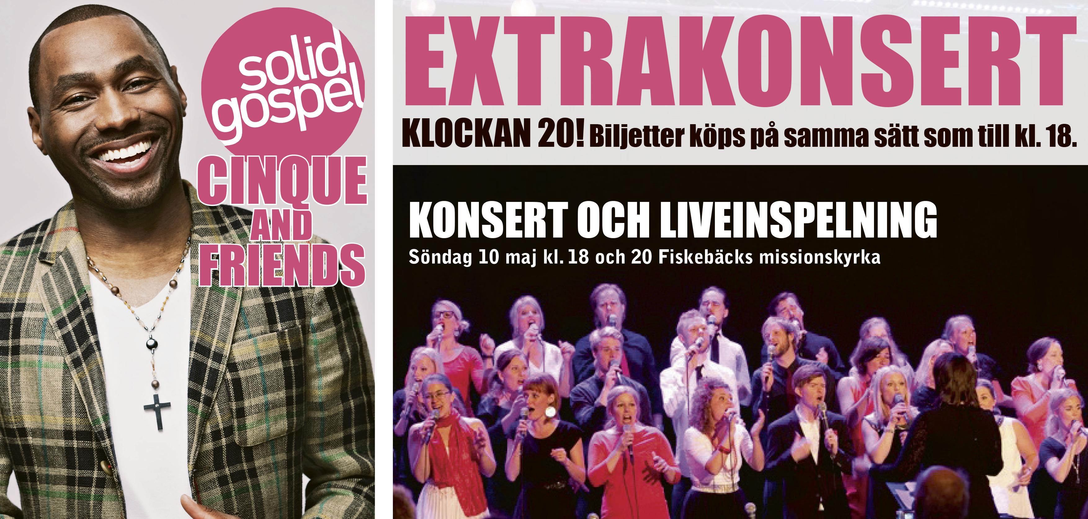 Extrakonsert kl. 20!